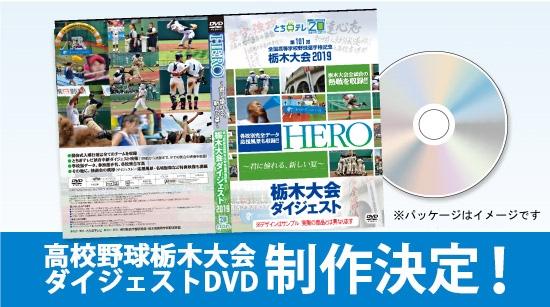 夏の高校野球栃木大会DVD制作決定!